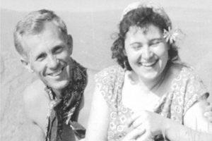 Ганко Цанов със съпругата си Мила