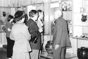 Беседа в залите на Музея на занаятите – Троян