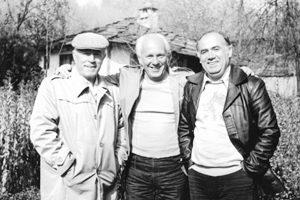 С Николай Хайтов и Марко Семов