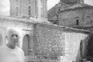 """Пред манастира """"Св. Наум"""" – Охрид, 1983 г."""