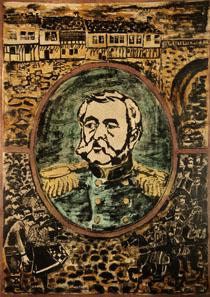 Генерал Карцов в Троян
