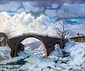 Старият римски мост при село Бели Осъм