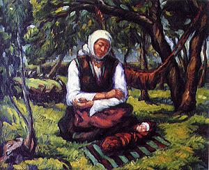 Майка с детенце