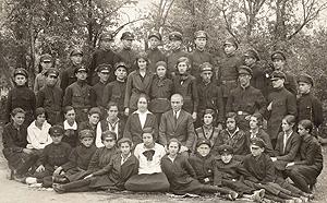 Иван Шошков със съученици