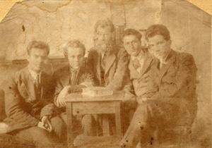 С проф. Иван Унджиев, Петко Топалов, Стефан Андрейчин и проф. Генчо Пирьов