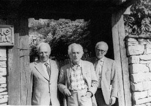 С Найден Петков в Ловеч, 1980 г.