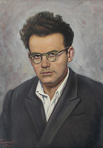 Минко Николов – портрет, худ. Петър Хаджиев