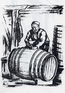 Бъчва (буре, бъдне, бъдън) за съхраняване на ракия. Материал: дъб, черница, бук. Вместимост средно: 200 – 300 л., а има и по-големи: 500 – 600 – 800 литра. Бъднето е сложено на специални подложки, за да се предпази от влагата. Стопанинът го подготвя за пълнене с ракия